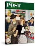 """More Money  Honey"" Saturday Evening Post Cover  July 21  1951"