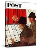 """""""Selecting the Ring """" Saturday Evening Post Cover  February 11  1961"""