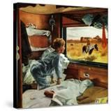 """""""Train Window on the West""""  July 24  1954"""