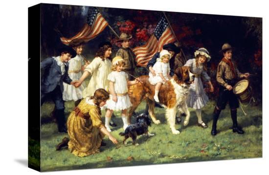 george-sheridan-knowles-american-parade-1917