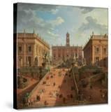 View of the Campidoglio  Rome  1750