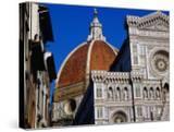 Looking Up at Duomo  Florence  Tuscany  Italy