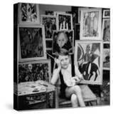 Nine Year Old Prodigy  Hansan Kaptan  Turkish Child  Has an Exhibition at a Gallery