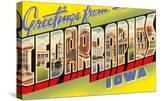 Greetings from Cedar Rapids  Iowa