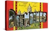 Greetings from des Moines  Iowa