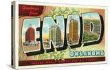 Greetings from Enid  Oklahoma