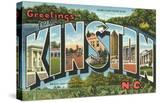 Greetings from Kinston  North Carolina