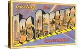 Greetings from Los Angeles  California