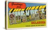 Greetings from Muskogee  Oklahoma