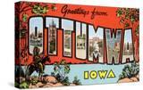 Greetings from Ottumawa  Iowa