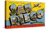 Greetings from San Diego  California