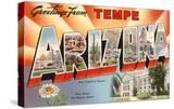 Greetings from Tempe  Arizona