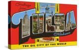 Greetings from Tulsa  Oklahoma