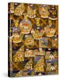 Mini Vistas of Positano on Souvenir Ceramics