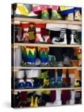 Group Photo of Clowns' Shoes at a Week Long Latin American Clown Convention in Mexico City