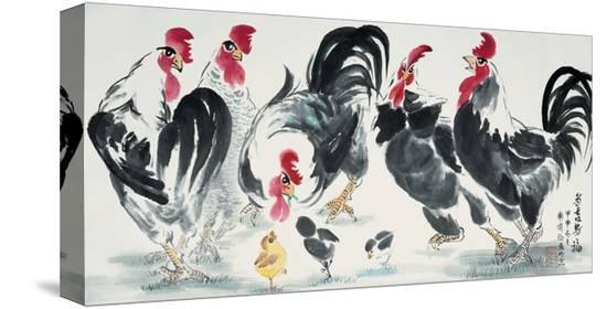guozen-wei-chickens-bring-luck