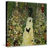 Garden with Chickens  1916