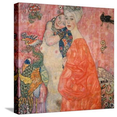 gustav-klimt-the-girlfriends-1916-17