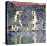The Schloss Kammer on the Attersee  1910