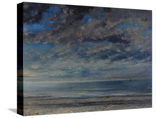 gustave-courbet-la-plage-soleil-couchant-1867