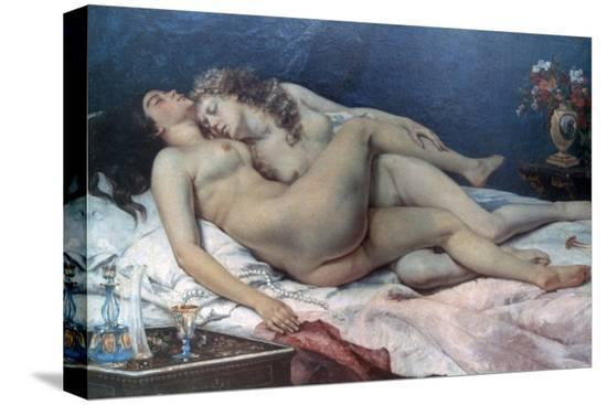 gustave-courbet-le-sommeil-1866