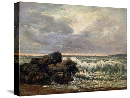 gustave-courbet-the-wave-c1870