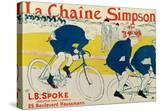 Poster for La Chaine Simpson  Bicycle Chains  1896