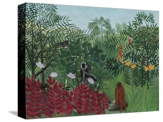 henri-rousseau-tropical-forest-with-monkeys-1910