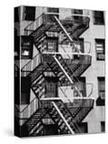 Fire Escape on Apartment Building