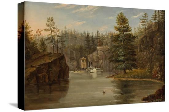 henry-lewis-gorge-of-the-st-croix-1847
