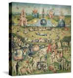 The Garden of Earthly Delights Central Panel of Triptych