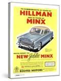 Hillman  Jubilee Edition Hillman Minx Cars  UK  1950