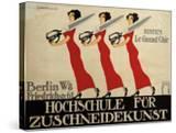 Hochschule Für Zuschneidekunst  College for Tailor Advertisement  Berlin  Germany