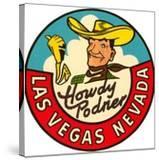 Howdy Podner Logo  Las Vegas  Nevada