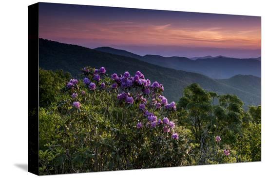howie-garber-sunset-cowee-mountain-landscape-blue-ridge-parkway-north-carolina