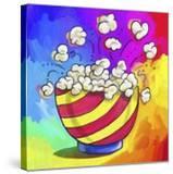 Pop-Art Popcorn Bowl