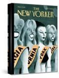 The New Yorker Cover - October 9  2000