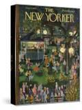 The New Yorker Cover - August 4  1956