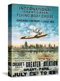 International Great Lakes Flying Boat Cruise  Chicago to Detroit  c1913
