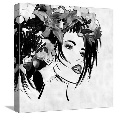 irina-qqq-art-sketched-beautiful-girl-face-with-flowers-in-hair-in-black-graphic-on-white-background