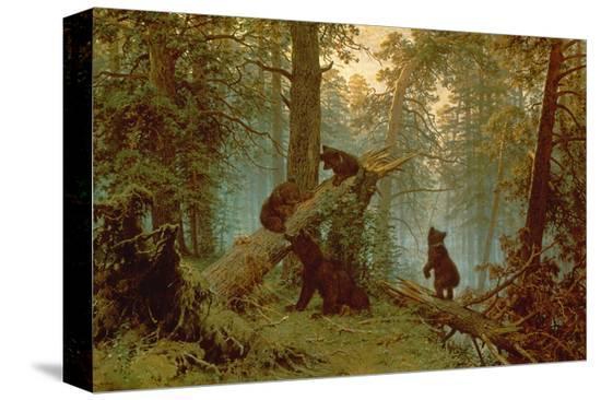 ivan-ivanovitch-shishkin-morning-in-a-pine-forest-1889