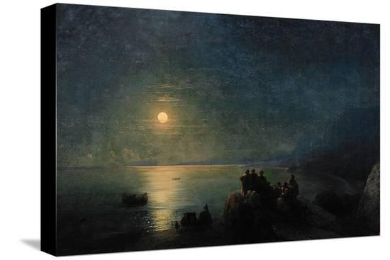 ivan-konstantinovich-aivazovsky-ancient-greek-poets-by-the-water-s-edge-in-the-moonlight-1886