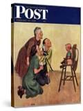 """""""Baby Picture """" Saturday Evening Post Cover  February 19  1949"""