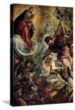 The Archangel Michael Fights Satan  (Revelation 12  1-9)