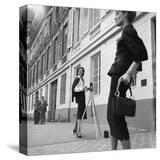 Vogue - August 1954 - Suzy Parker in Chanel