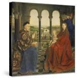 The Rolin Madonna (La Vierge Au Chancelier Rolin)  C 1435