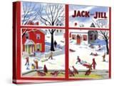 Winter Fun - Jack and Jill  January 1949