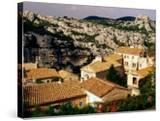 Hilltop Village in Les Alpilles  Les Baux De Provence  France