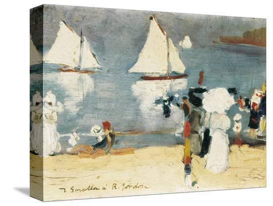joaquin-sorolla-y-bastida-beach-in-la-concha-bay-in-san-sebastian