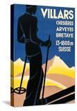 Advertising poster for Villars  Switzerland